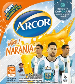 CamOnApp - Augmented Reality (Arcor World Cup)