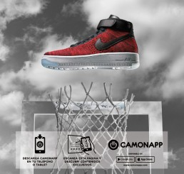 CamOnApp - Augmented Reality (Nike Galera)