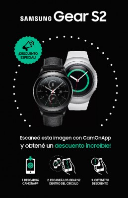 CamOnApp - Augmented Reality (Samsung Gear G2)