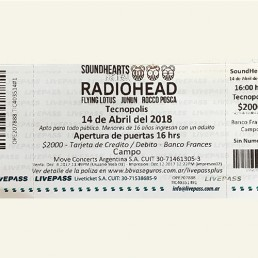 CamOnApp - Augmented Reality (Sound Hearts Radiohead)