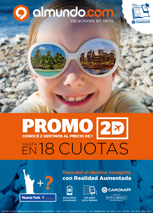 CamOnApp - Augmented Reality (Almundo Promo)
