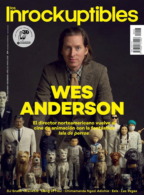 CamOnApp - Augmented Reality (Inrocks Wes Anderson)