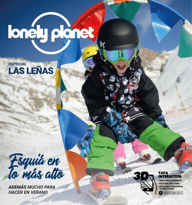 lonely planet snow augmented reality